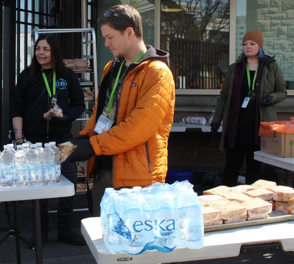 <p><strong>Our Place Society</strong></p> <p>Victoria Branch</p> <p>Our Place is providing between 800-1000 meals each day to the hungry and hurting of our community during this crisis. We are also providing community outreach, paramedic checkups and other vital services to those vulnerable citizens of Greater Victoria who count on us for support. We Would benefit greatly from the emergency fund program to distribute food to where it's needed. </p>