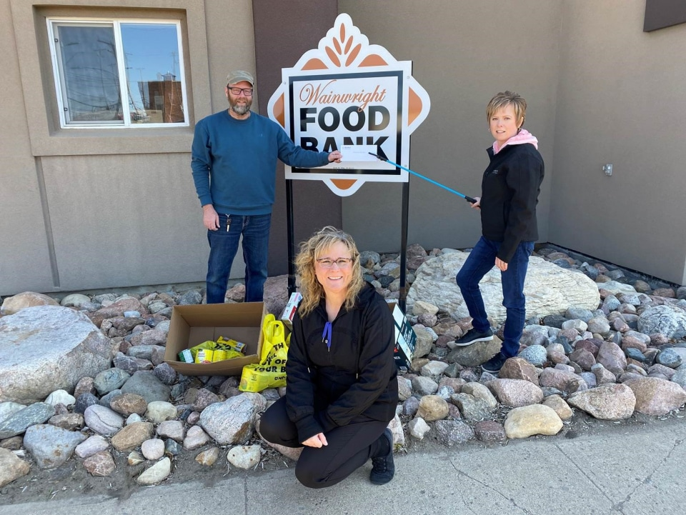 <p><strong>Wainwright Battle River Food Bank Association</strong></p> <p>Wainwright Branch</p> <p>This charity is accessible to our entire community for immediate support of food. It is the only food bank in our community.</p>